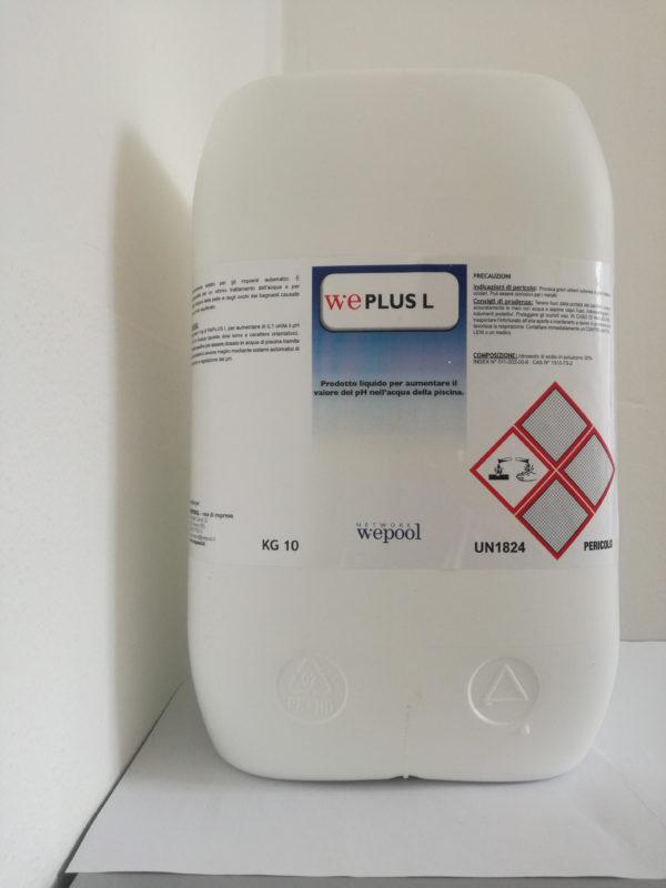 WePlus - prodotto liquido per alzare il ph