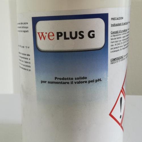 WePlus G - Ph più granulare per piscine 1 kg
