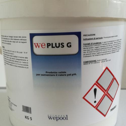 WePlus G - Ph più granulare per piscine 5 kg