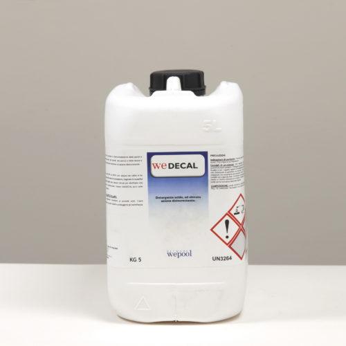 We-Decal - Detergente acido, ad elevata azione disincrostante