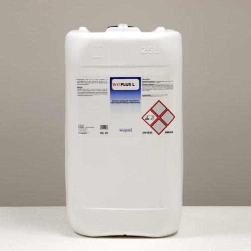 WePlus - Prodotto liquido per aumentare il valore pH.